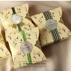 FREE-SHIPPING-yellow-flower-gift-box-font-b-packaging-b-font-paper-cookie-box-font-b